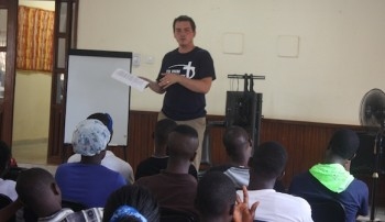 Eddie Preaching